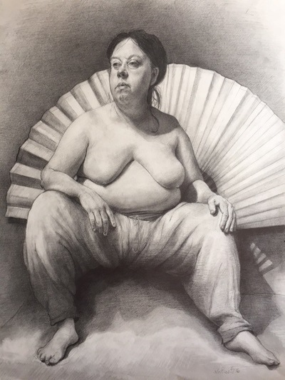 LoPresti Arts - Betty and Fan, 2016