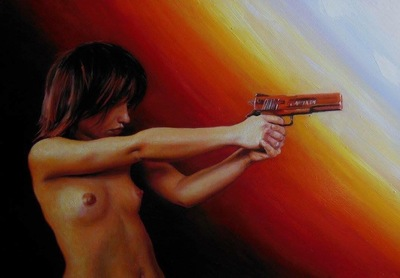 LoPresti Arts - Girl with a Gun,2016