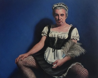 LoPresti Arts - French Maid in Drag, 2017