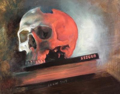 LoPresti Arts - Sartres skull, 2016