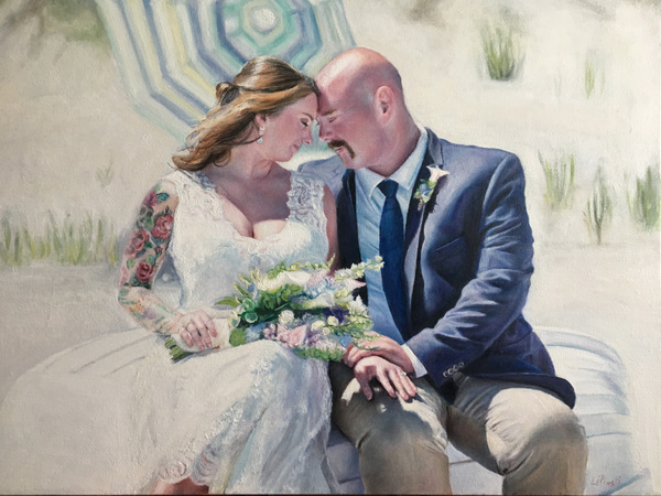 LoPresti Arts - Wedding Portrait 2, 2019