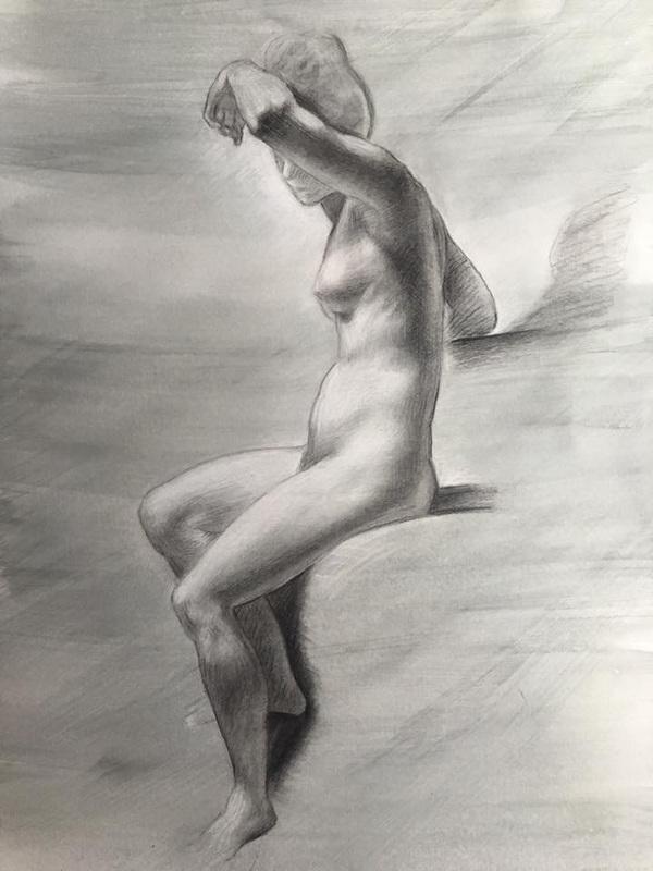 LoPresti Arts - Prudhon Drawing