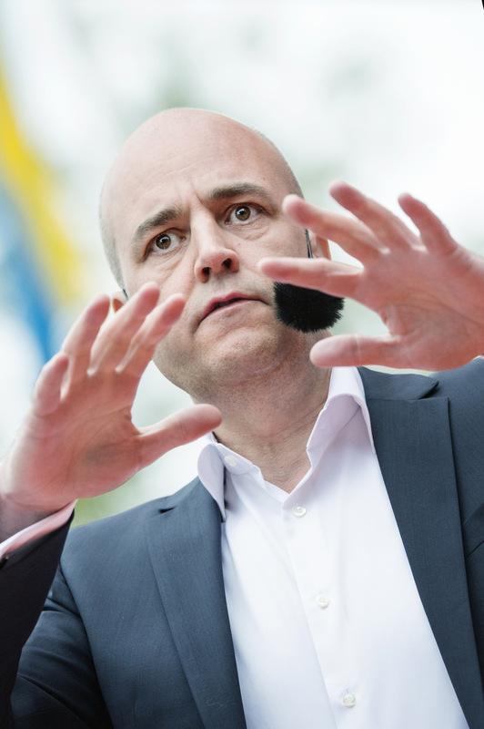 Photographer Anna Tärnhuvud - Fredrik Reinfeldt, Swedish prime minister.