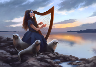 Aliciane (Elésiane Huve) | Freelance Illustrator, Digital Painter, Concept Artist - Daughter of the Wild Sea