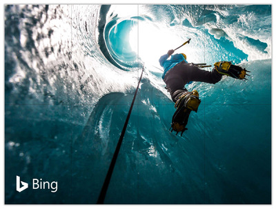 Amanda Goldstein - Microsoft Bing Poster