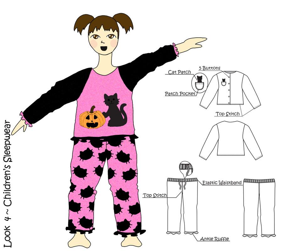 Jessica DeLuca Fashion Designer - Look 4 | Done in Adobe Photoshop & Illustrator