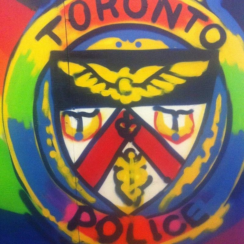 Monica Wickeler - T.P.S logo hand paint