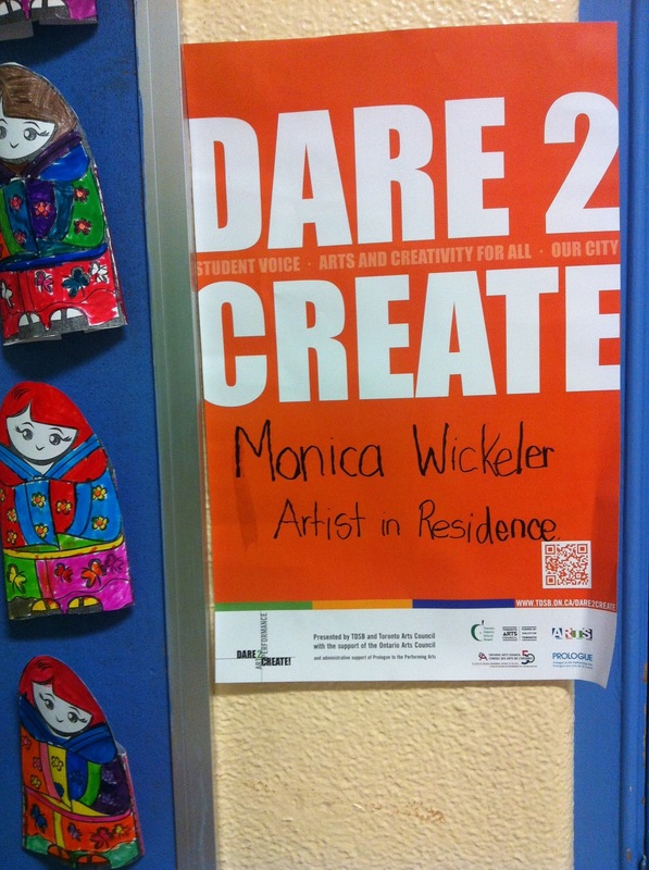 Monica Wickeler - TDSB Dare 2 create