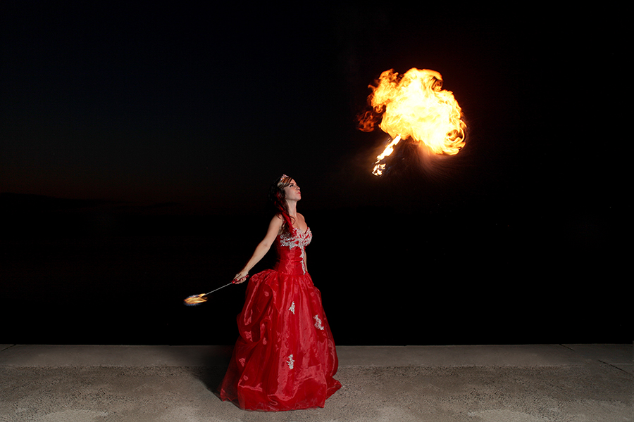 Banks Media - Fire Breathing Princess Deanna Marie