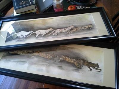 Vanessa Velez Art - Watercolor and Pen on paper
