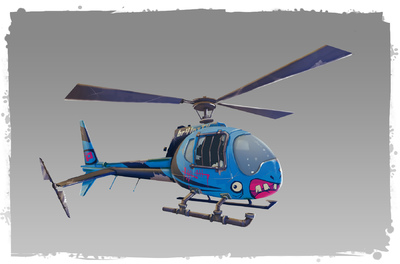 Lauren Cason - Helicopter Concept, Photoshop
