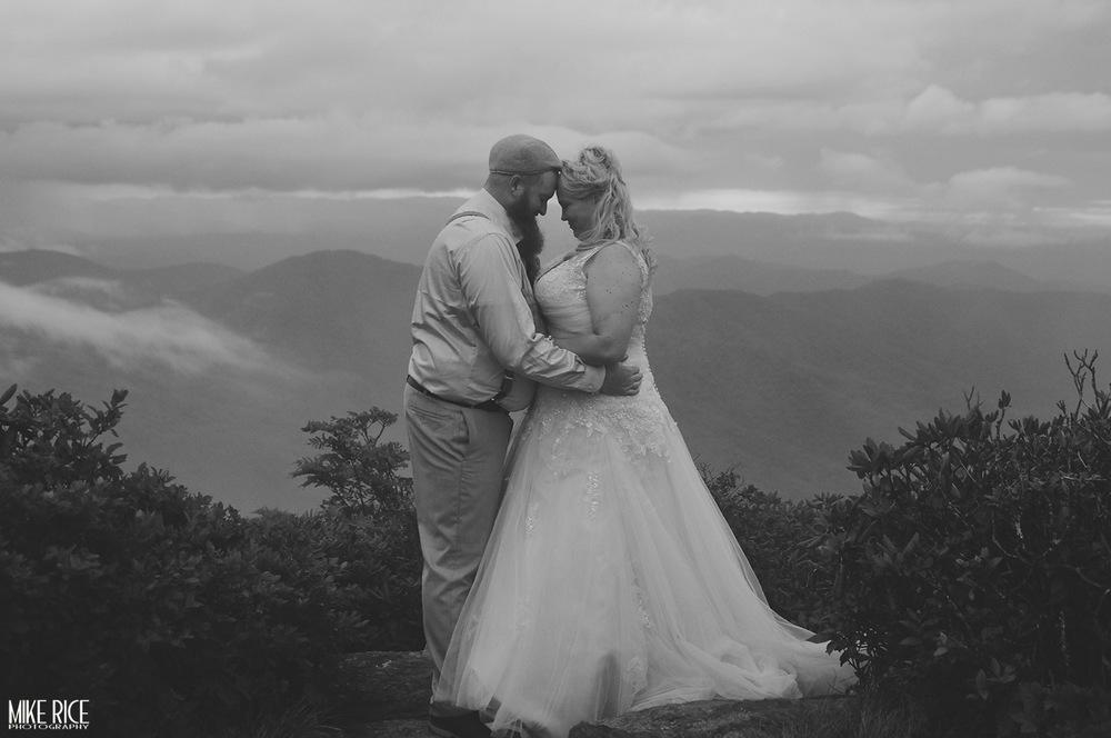 Wedding Photography - North Carolina - Asheville Wedding Photographer, Romantic Asheville, Mike Rice Photography, craggy gardens wedding