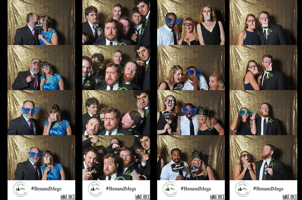 Wedding Photography - North Carolina - Asheville Photo Booth