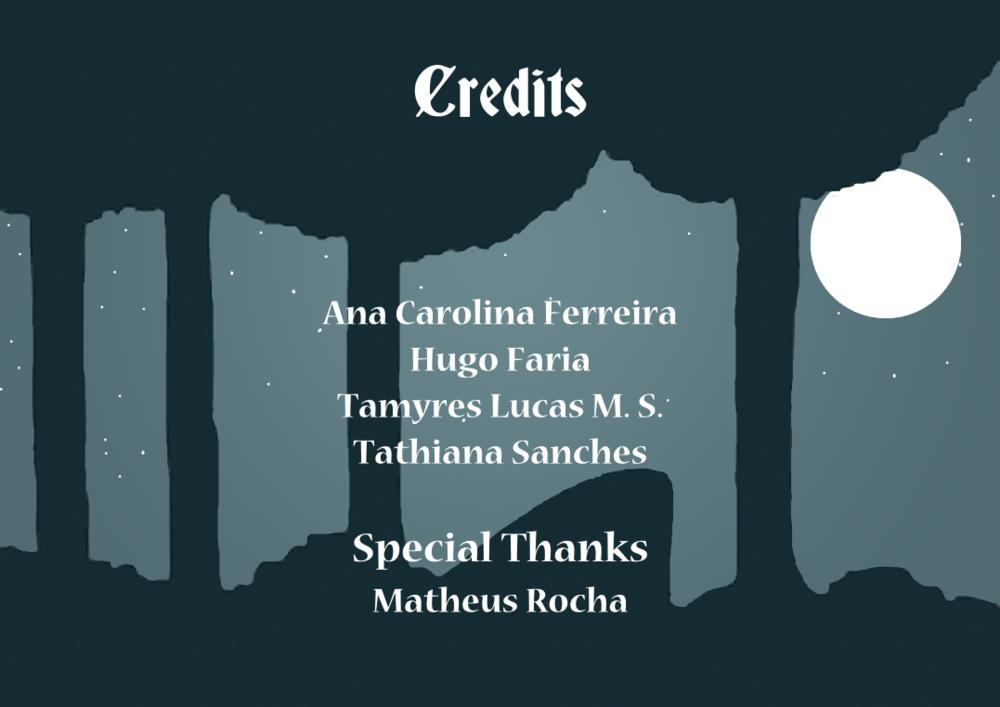 Tamys Portfolio - The Story of Tchiubi: Credits