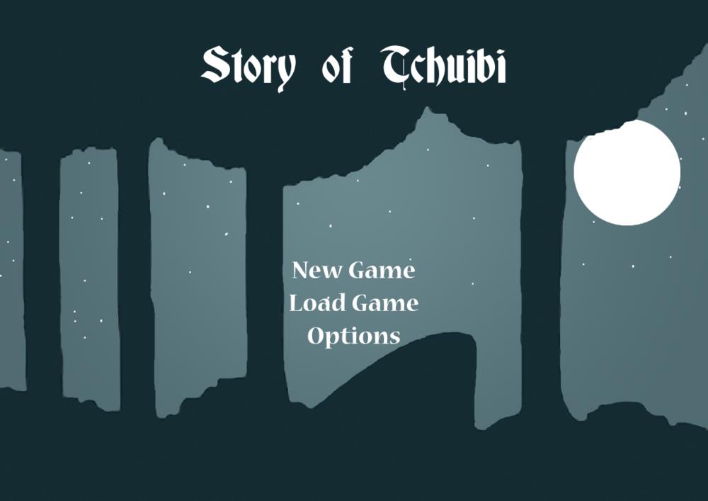 Tamys Portfolio - The Story of Tchiubi: Menu
