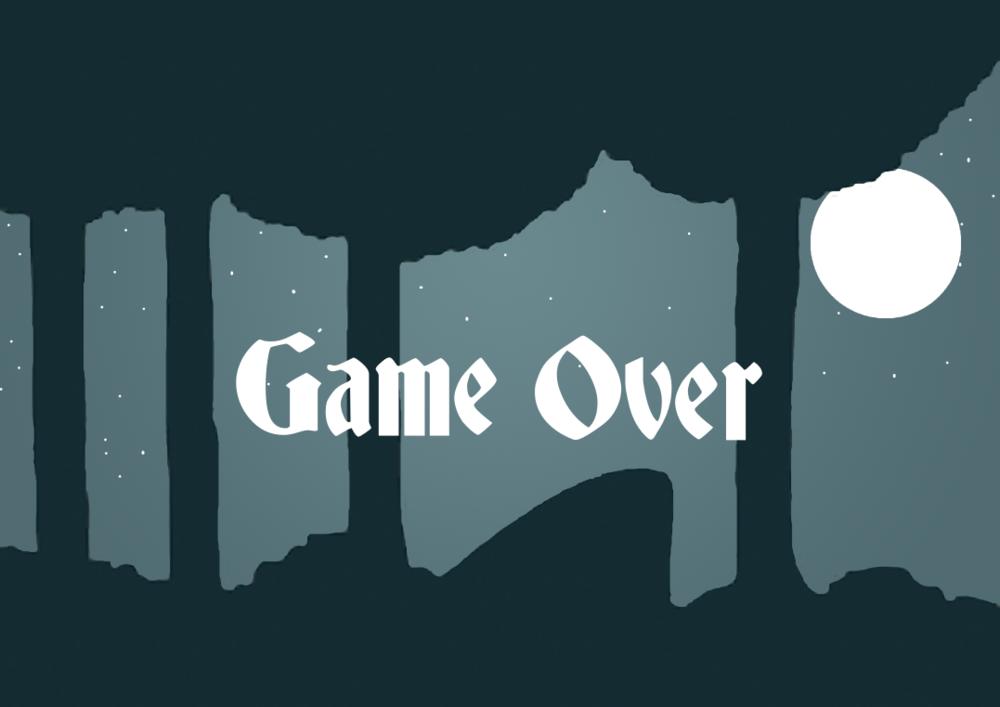 Tamys Portfolio - The Story of Tchiubi: Game Over