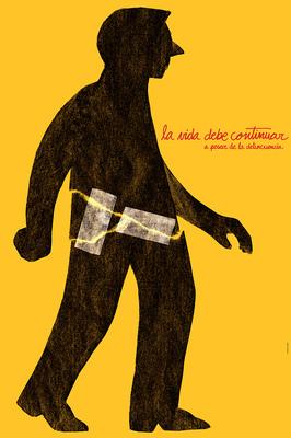Bruno Rivera | Graphic Design & Illustration - La Vida Debe Continuar Life Must Go On 2012