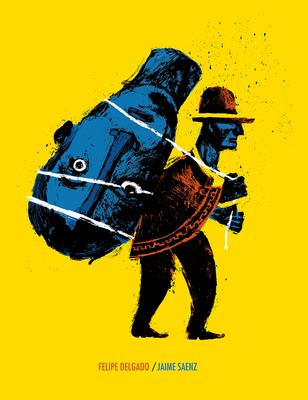 Bruno Rivera | Graphic Design & Illustration - Portada para Felipe Delgado, de Jaime Saenz Book Cover for Felipe Delgado, by Jaime Saenz 2014
