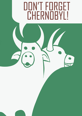Bruno Rivera | Graphic Design & Illustration - Advertencia de una Vaca de Dos Cabezas Warning from a Two-Headed Cow 2011
