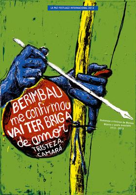 Bruno Rivera | Graphic Design & Illustration - Berimbau (Homenaje a Vinícius de Moraes) Berimbau (Tribute to Vinícius de Moraes) 2013