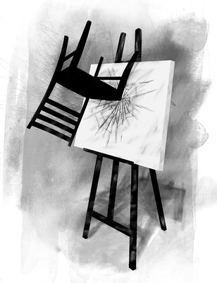 Bruno Rivera | Graphic Design & Illustration - Portada del primer número del Boletín Ropa Interior Cover of the first issue of Ropa Interior Bulletin 2012