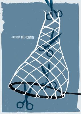 Bruno Rivera | Graphic Design & Illustration - Justicia Ineficiente Inefficient Justice 2013