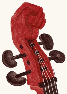 Bruno Rivera | Graphic Design & Illustration - El Músico Musician 2013