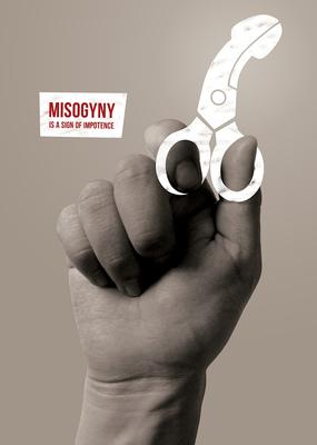 Bruno Rivera | Graphic Design & Illustration - La Misoginia es Señal de Impotencia Misoginy is a Sign of Impotence 2012