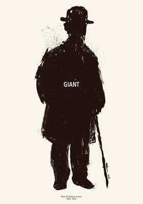 Bruno Rivera | Graphic Design & Illustration - Gigante (Tributo a Toulouse-Lautrec) Giant (Tribute to Toulouse-Lautrec) 2014