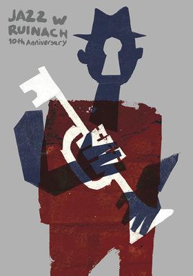 Bruno Rivera | Graphic Design & Illustration - Jazz w Ruinach, 10mo Aniversario Jazz w Ruinach, 10th Anniversary 2014