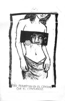 Bruno Rivera | Graphic Design & Illustration - Más Pervertido es el Censor que el Censurado The Censor is More Perverted than the Censored One 2014