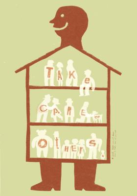 Bruno Rivera | Graphic Design & Illustration - Cuida a los demás Take Care of Others 2015