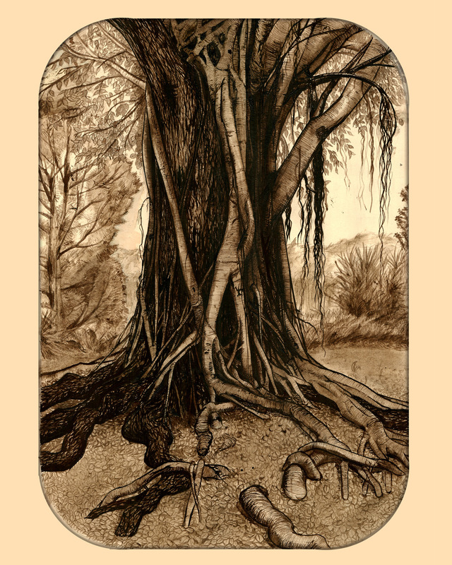 PJ Kempen :: Online Art Gallery - Mythic Tree