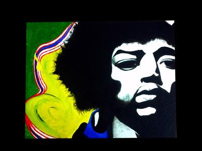 PolkTheArtist - Jimi Hendrix