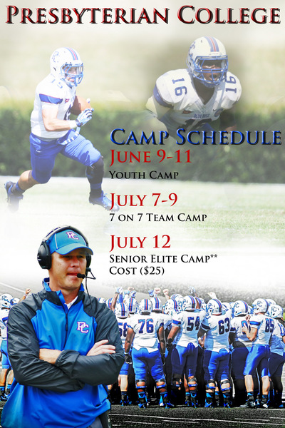PolkTheArtist - Presbyterian College Camp Flyer