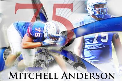 PolkTheArtist - Mitchell Anderson Poster