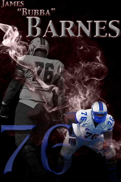 PolkTheArtist - James Barnes Senior Poster
