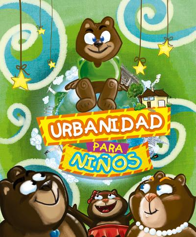 PortafolioDNITRO - Ilustracion Libro de Normas civicas para niños con personajes de Osos