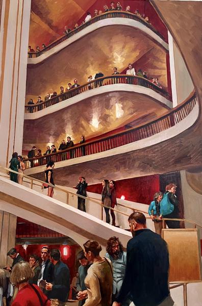 Danny Glass - Met Opera NYC Lobby