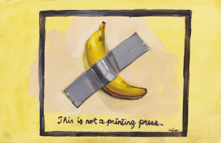 Danny Glass - This is not a printing press.