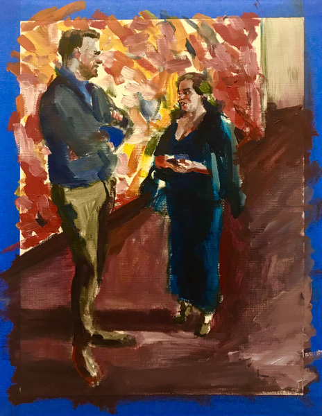 Danny Glass - Metropolitan Opera House with Cecily Brown