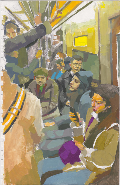 Danny Glass - Subway Composition 1