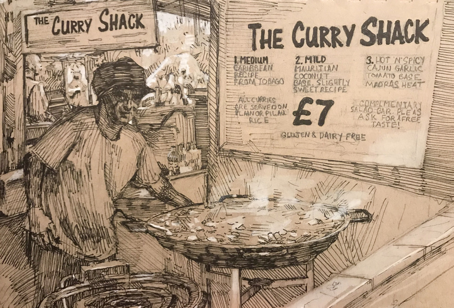 Danny Glass - The Curry Shack