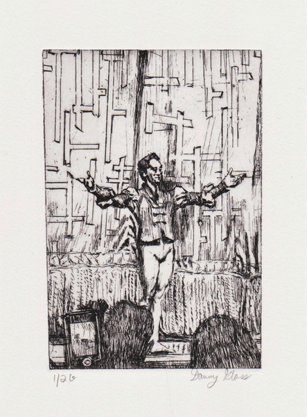 Danny Glass - Mercutio Curtain Call