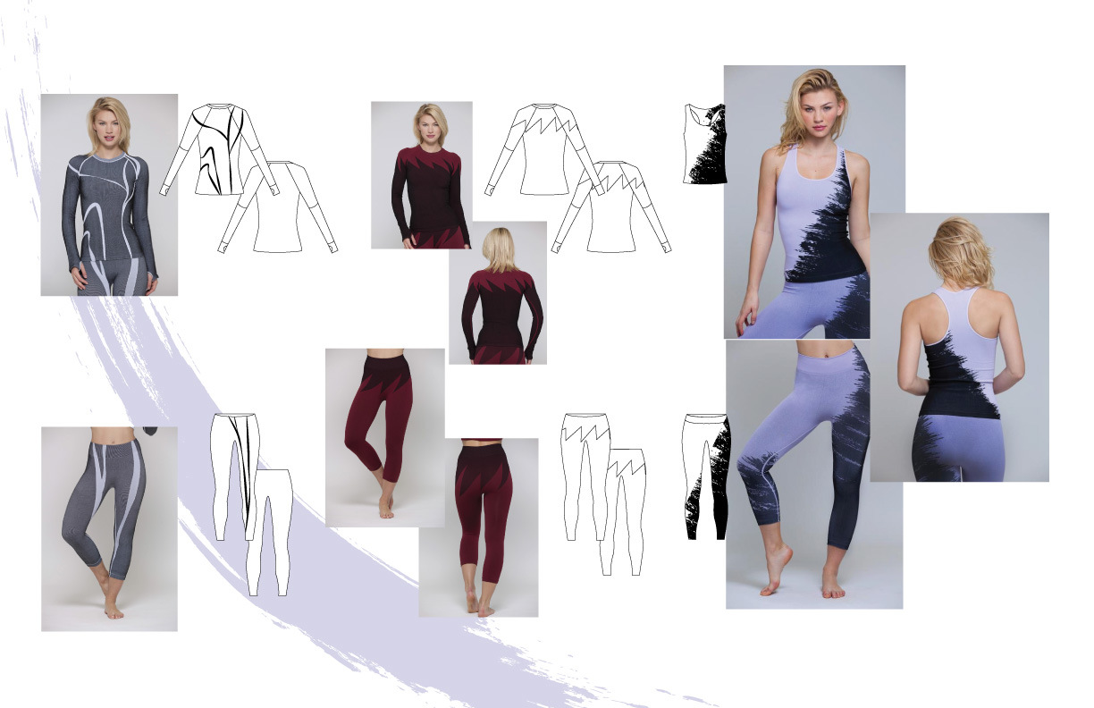 DIOR DELOPHONT - Garments designed for Phat Buddha Yogawear NYC.