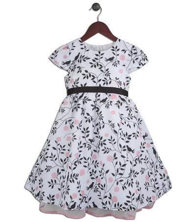 Kimberlee Peers-Moore Designer - Aubrey Bird Blossom print dress