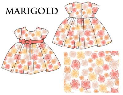 Kimberlee Peers-Moore Designer - Marigold print