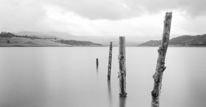 German Niño Fotografia - Represa del Sisga B&W