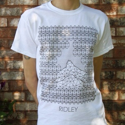 Billy Morehouse - Video/Motion Graphics / Audio and Music / Design / Illustration / Art - Final printed Ridley t-shirt. Printed by Madtown Printing in Madison, WI.