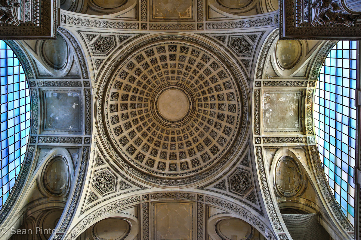 Sean Pinto photoGRAPHY - Ceiling of the Pantheon